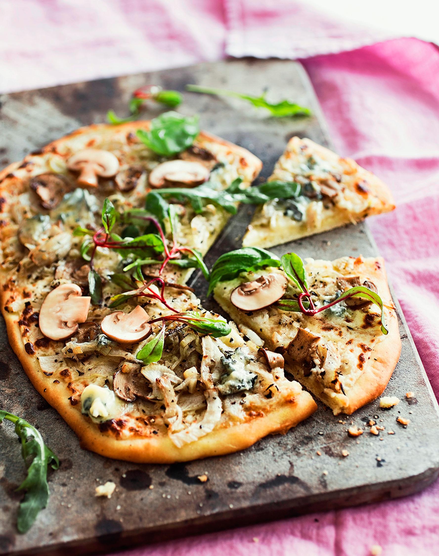 Valkoinen Pizza