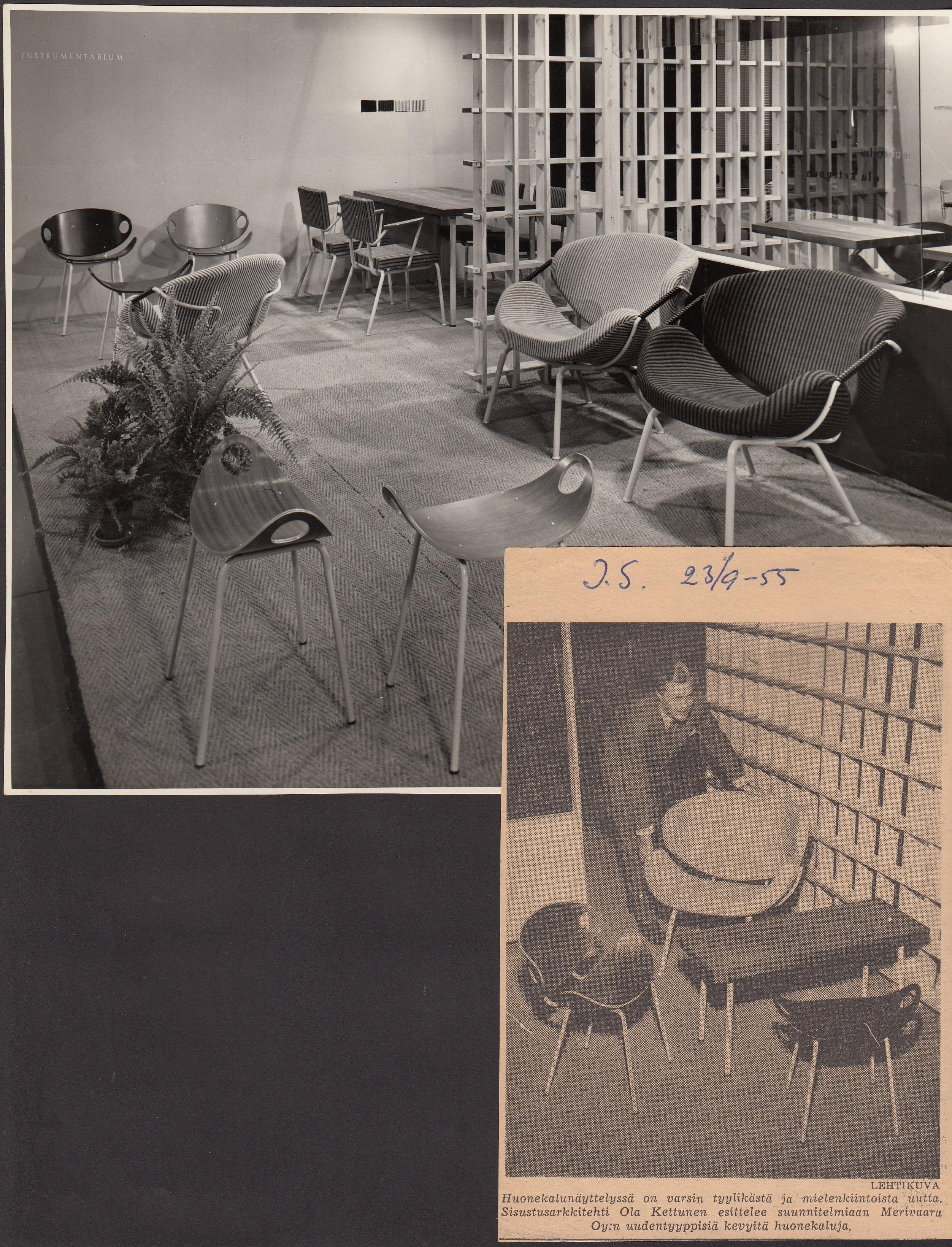 Ulla tuolin suunnittelija Ola Kettunen   Meillä kotona