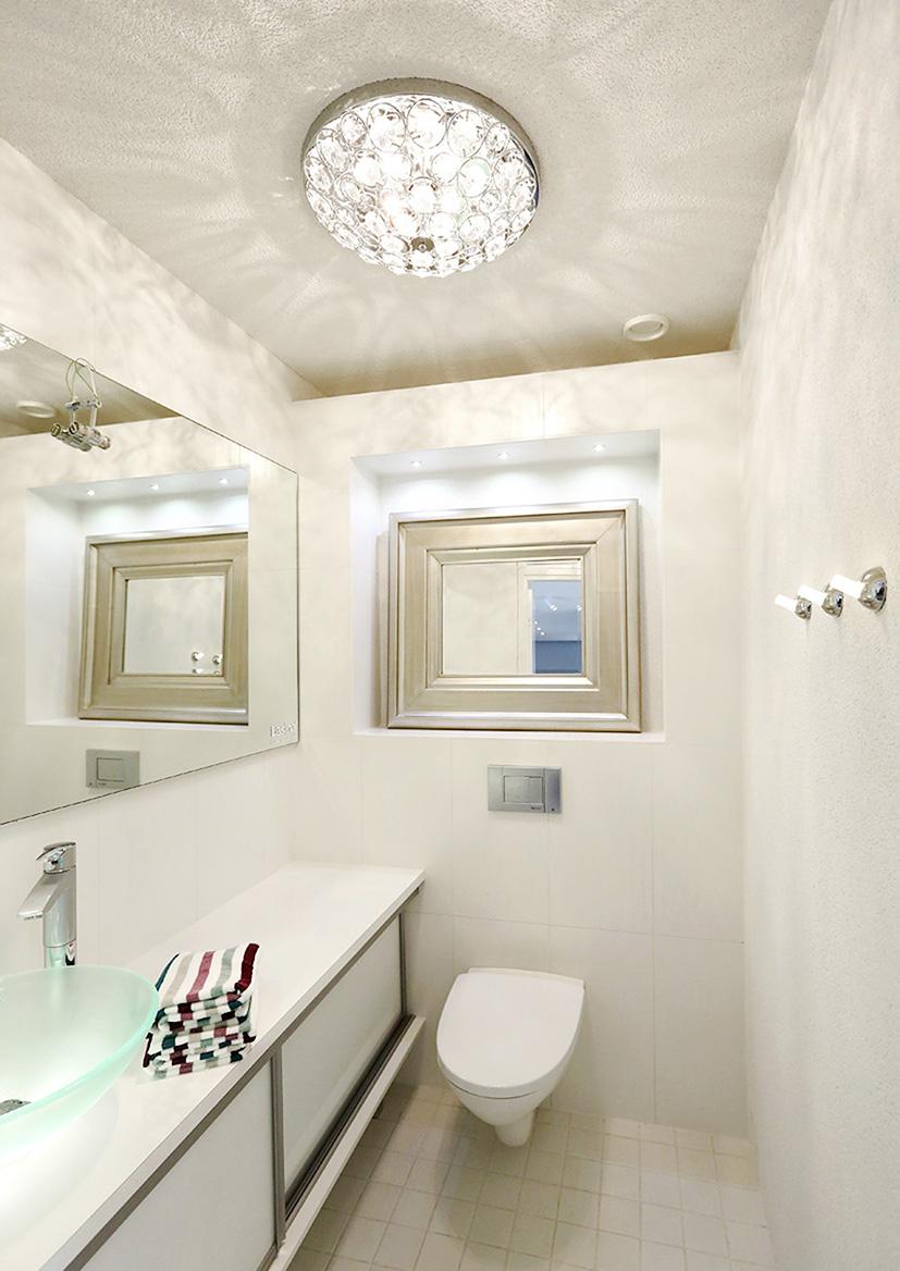 Millainen on hyvä kylpyhuoneen valaistus?